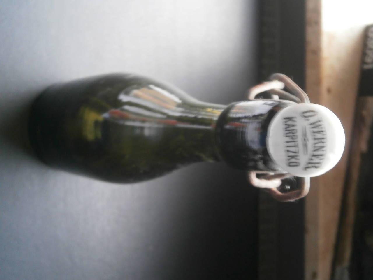 Getränke Flasche um 1940