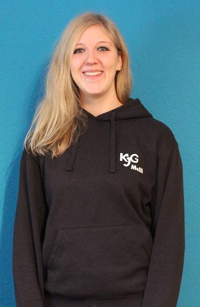 Gruppenleiterin Melanie Stier