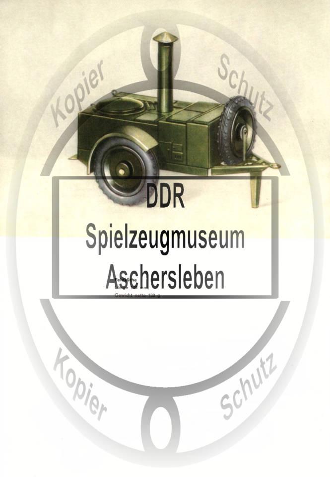 MSW Metallspiewaren Weimar. DDR Spielzeug.