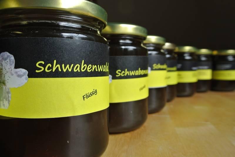Schwabenwald im 360g Glas