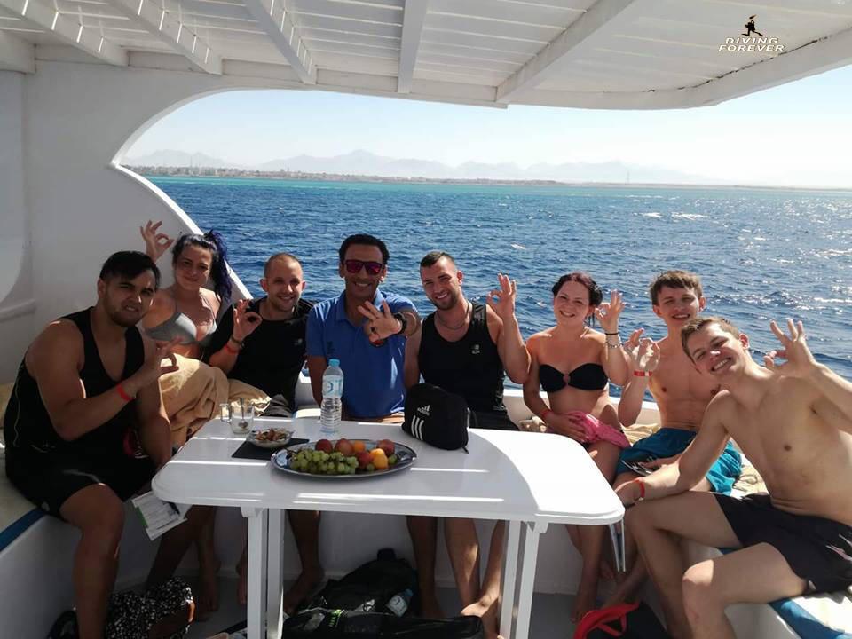 Tauchgruppe Hurghada