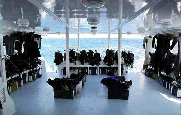 Ausrüstung am Boot