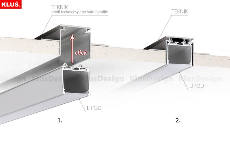 led profil decke home image ideen. Black Bedroom Furniture Sets. Home Design Ideas