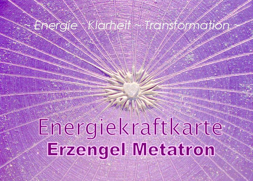 Energiekraftkarte - Shamanic-Energy-Center