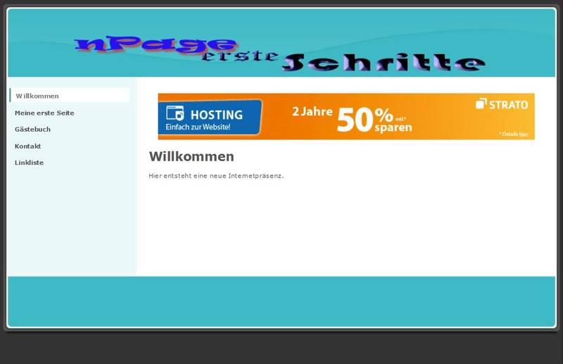 nPage Design anpassen Logo eingebunden