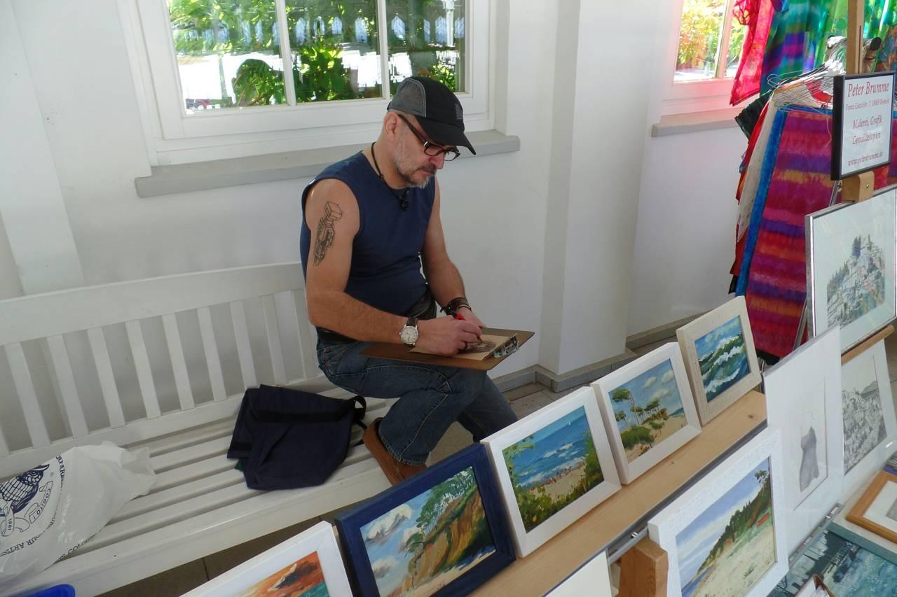 Peter Brumme, Maler und Grafiker