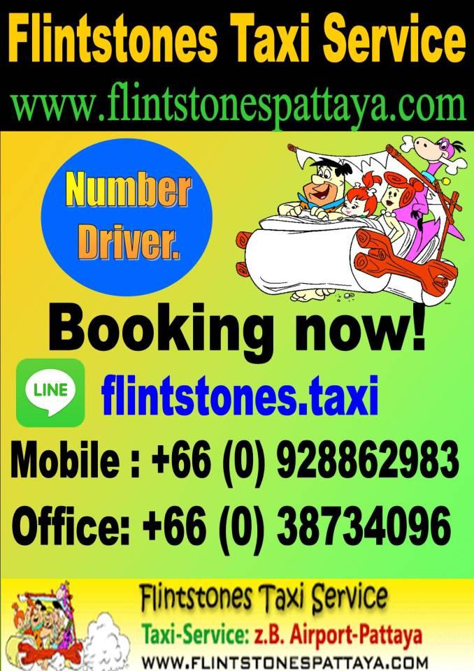 FLINTSTONES TAXI SERVICE : (66)92 886 2983 LINE: flintstones
