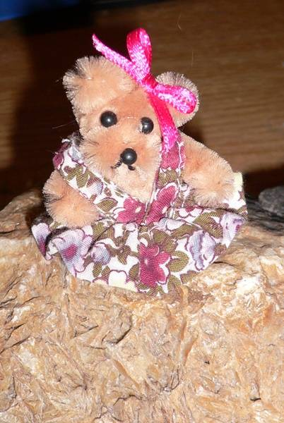 Teddy aus Pfeifenputzer