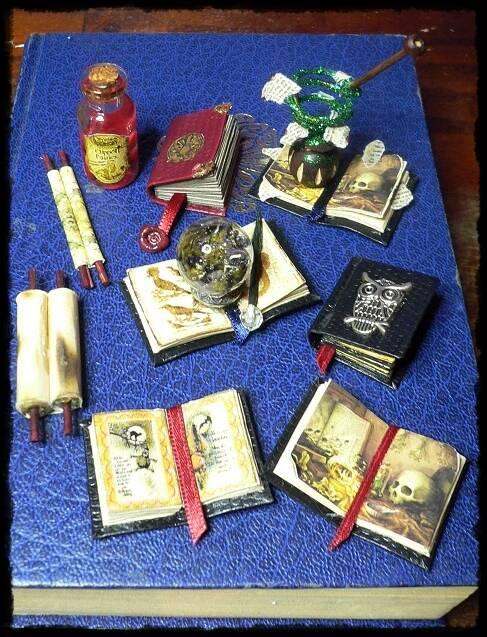 Hexenbücher Zauberbücher