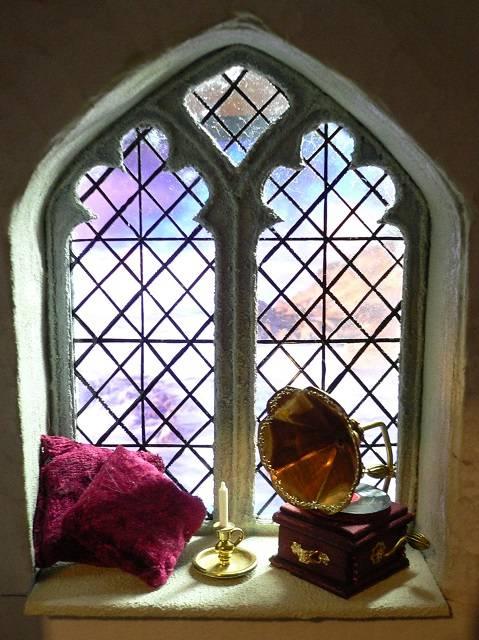 Gotisches Fenster 1:12