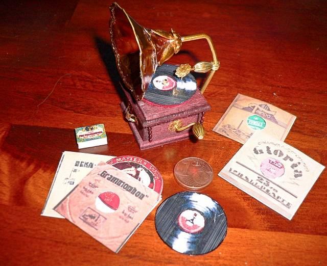 Grammophon für die Puppenstube