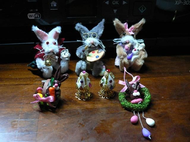 Osterhasen Miniaturen