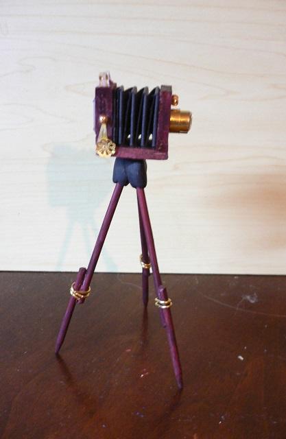 Antike Kamera 1:12