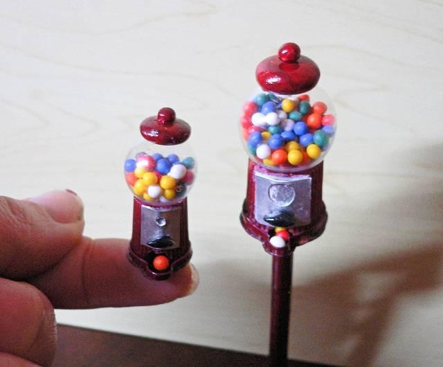 Kaugummiautomaten Miniaturen