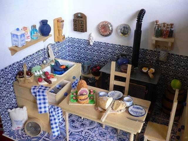 Miniatur- Küche