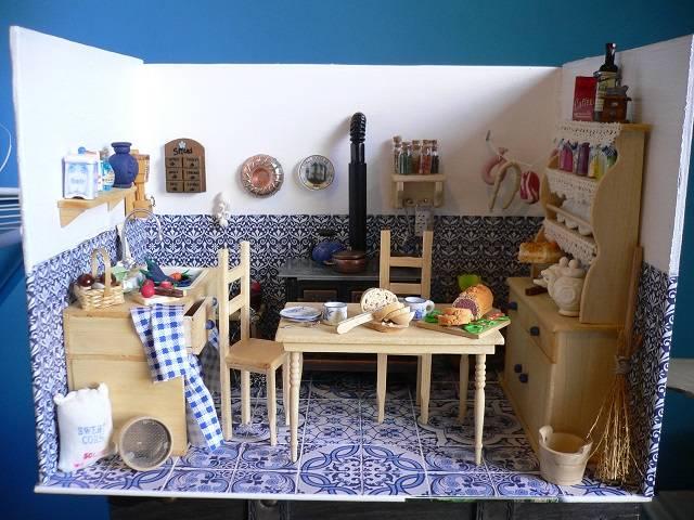Puppenstube Küche