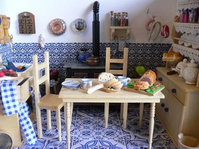 Küche 1:12 / Kitchen dollhouse