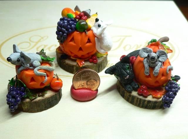 Miniaturen für Halloween