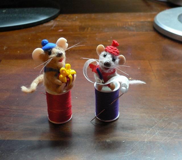 Mäuse Miniaturen