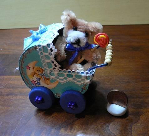 Puppenwagen 1:12