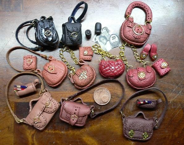 Taschen für die Puppenstubenbewohner