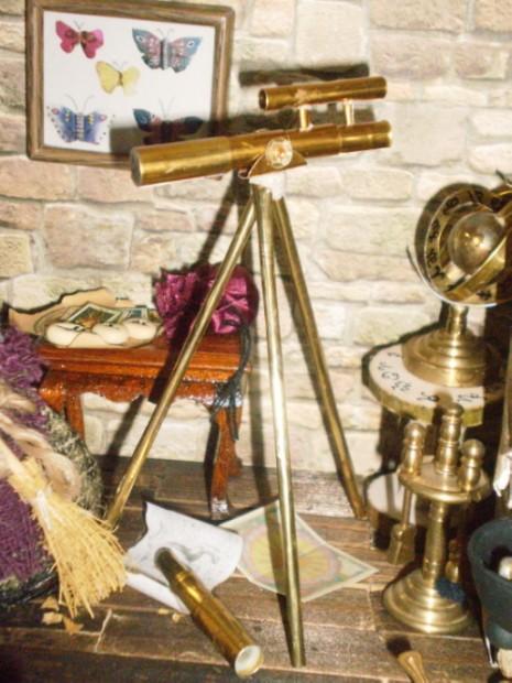 Teleskop für die Hexenstube