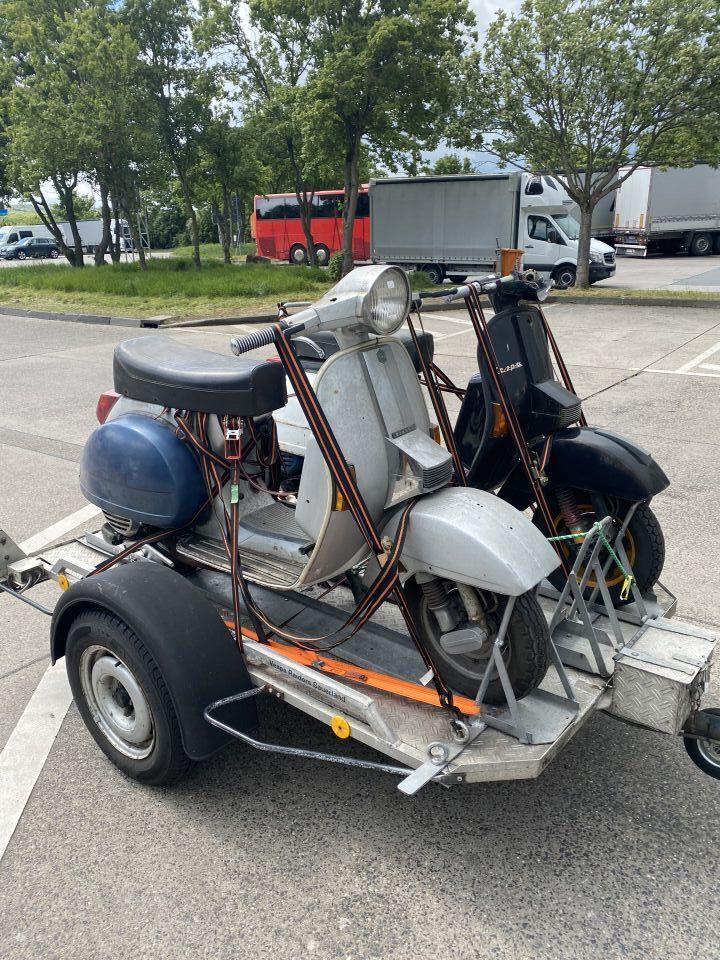Motorroller Reparatur