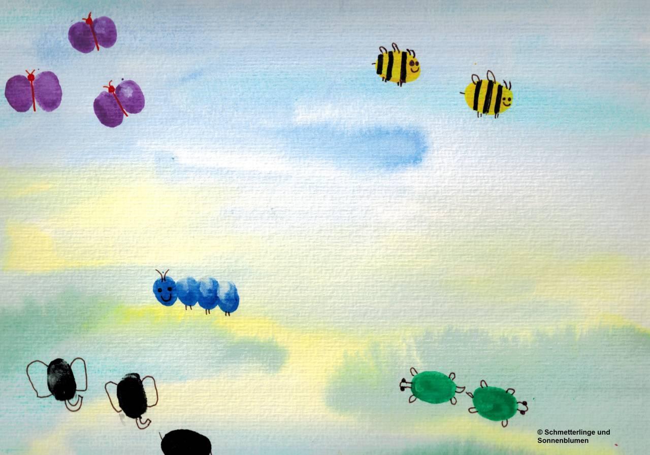 Schmetterlinge Und Sonnenblumen Zwei Multiple Persönlichkeiten