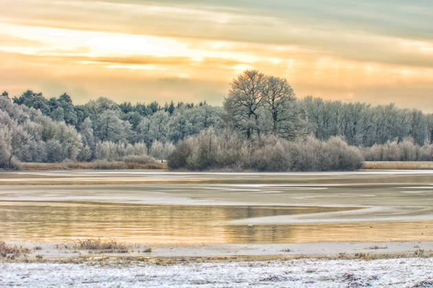 Winter, Landschaft, See, Natur, HDR, Verträumt, Lichter, Schatten, Eis, Schnee, Wonderland