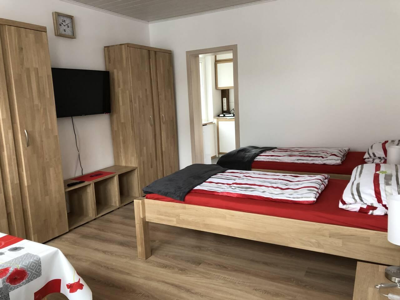 Wohnraum Rahden Monteurs und Ferienwohnung - Schlafen wie Zuhause