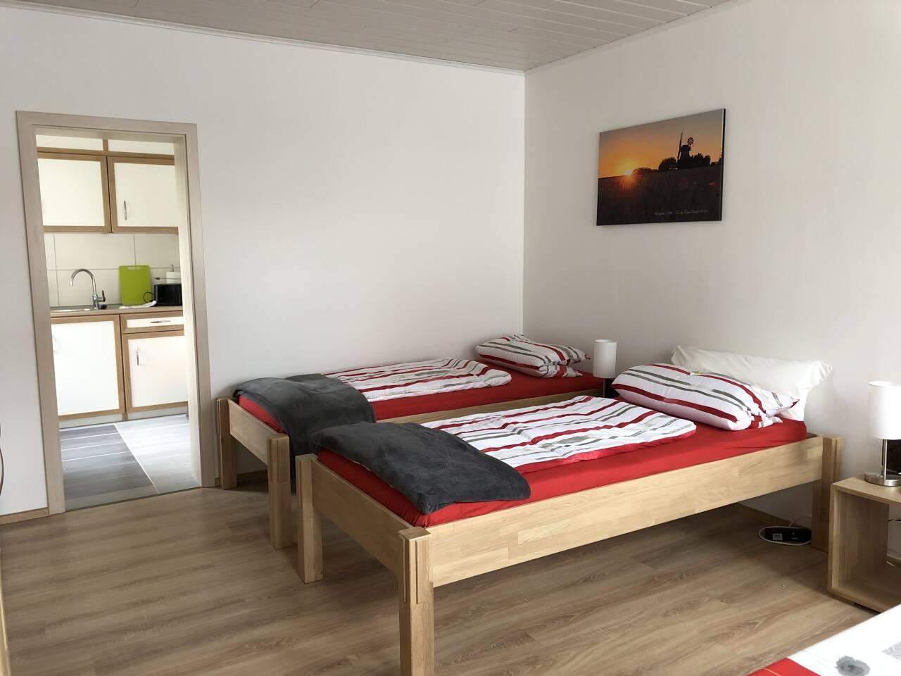 Monteur und Ferienwohnung Schlafen wie Zuhause im Zentrum von der Stadt Rahden Nordrhein Westfalen