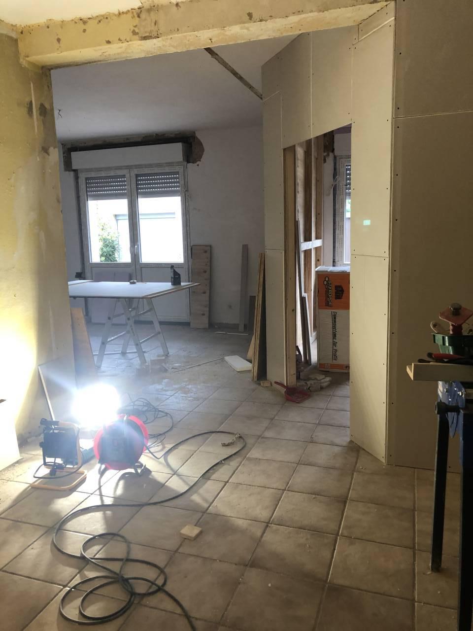 Wohnung 6 Personen Rahden im Umbau