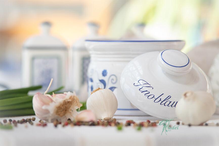 Landhaus Liebe, Knoblauch Stillleben für die Küche