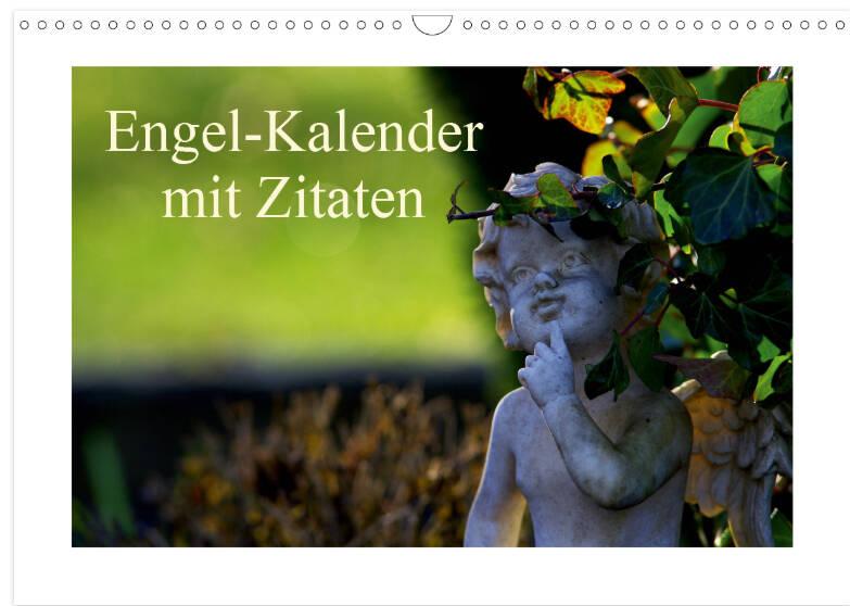 Engel Kalender mit Zitaten, Glaube, Sprüche, Hoffnung, Zuversicht, Kraft