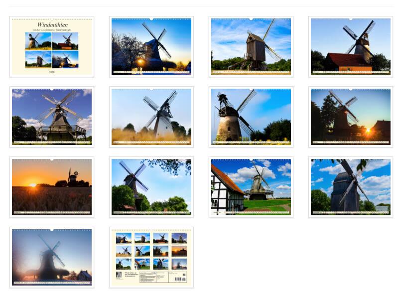 Windmühlen in NRW