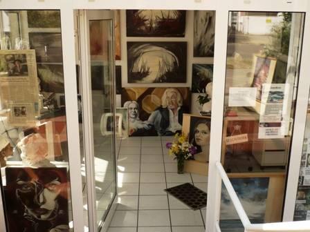 atelier strohschen warnemünde eingang malerei galerie plastiken schulung unterricht ostsee