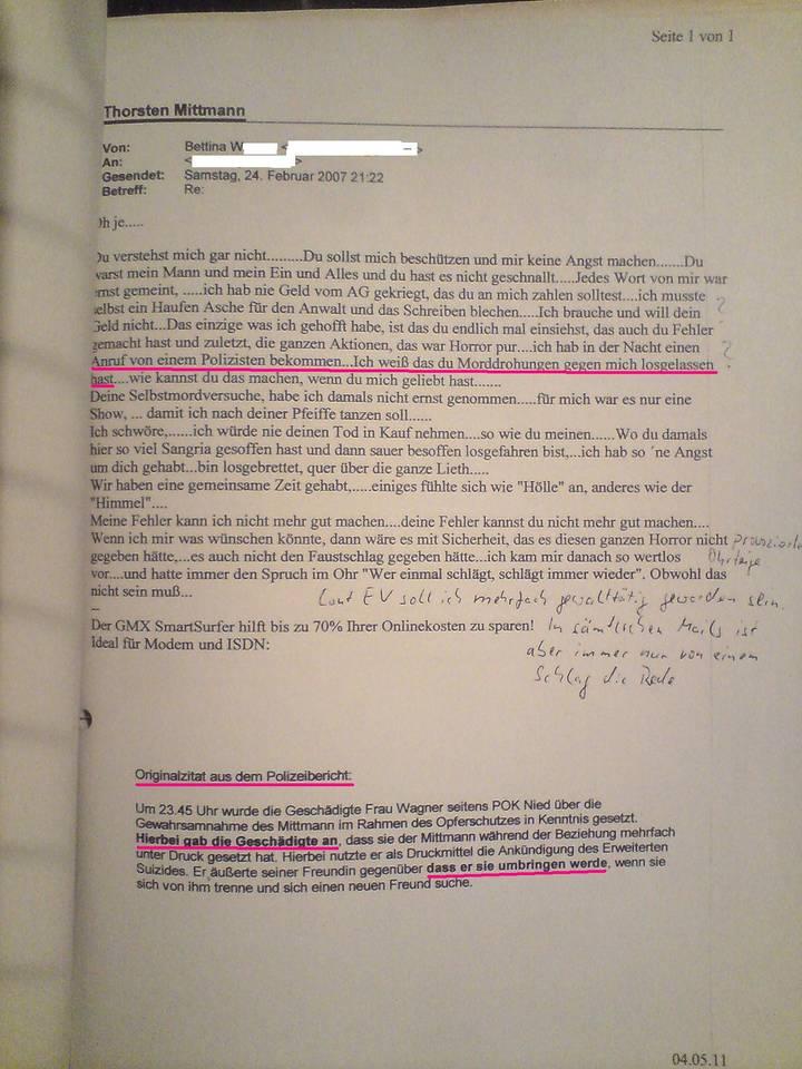 Einstweilige Verfügung Feminismus Opferlüge Lügenjustiz Seite 3