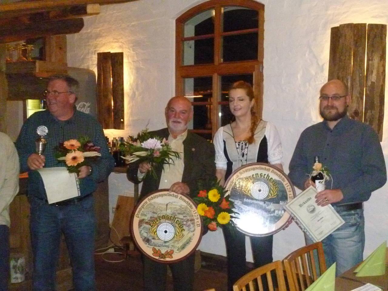 Schützenkönige 2015