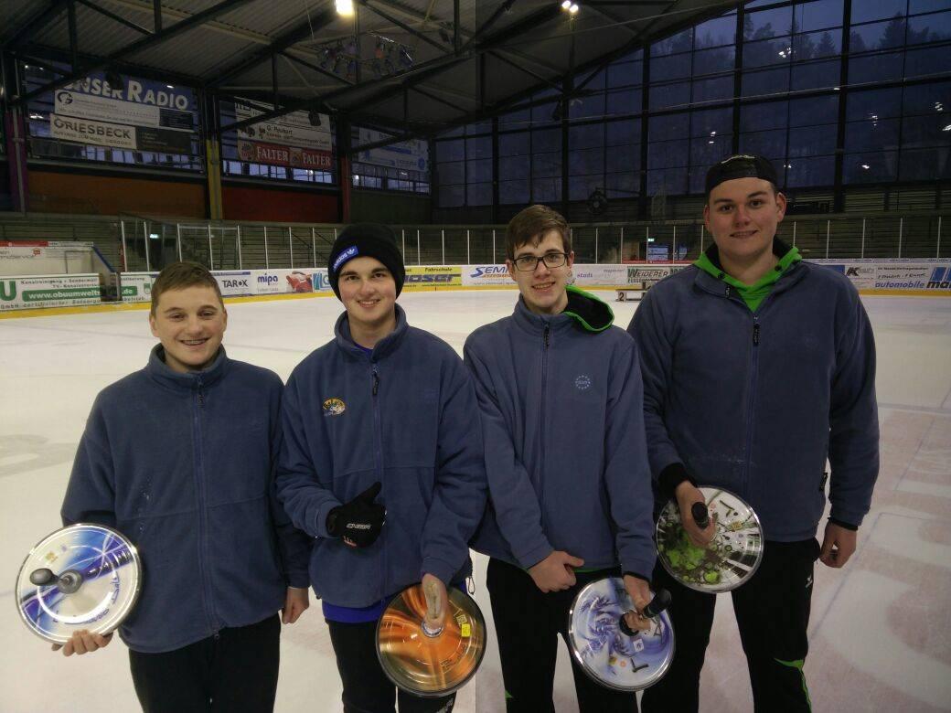 Bayerischer Meister Jugend U19 Winter 2017/18 in Deggendorf SG Feldkirchen/Aufham