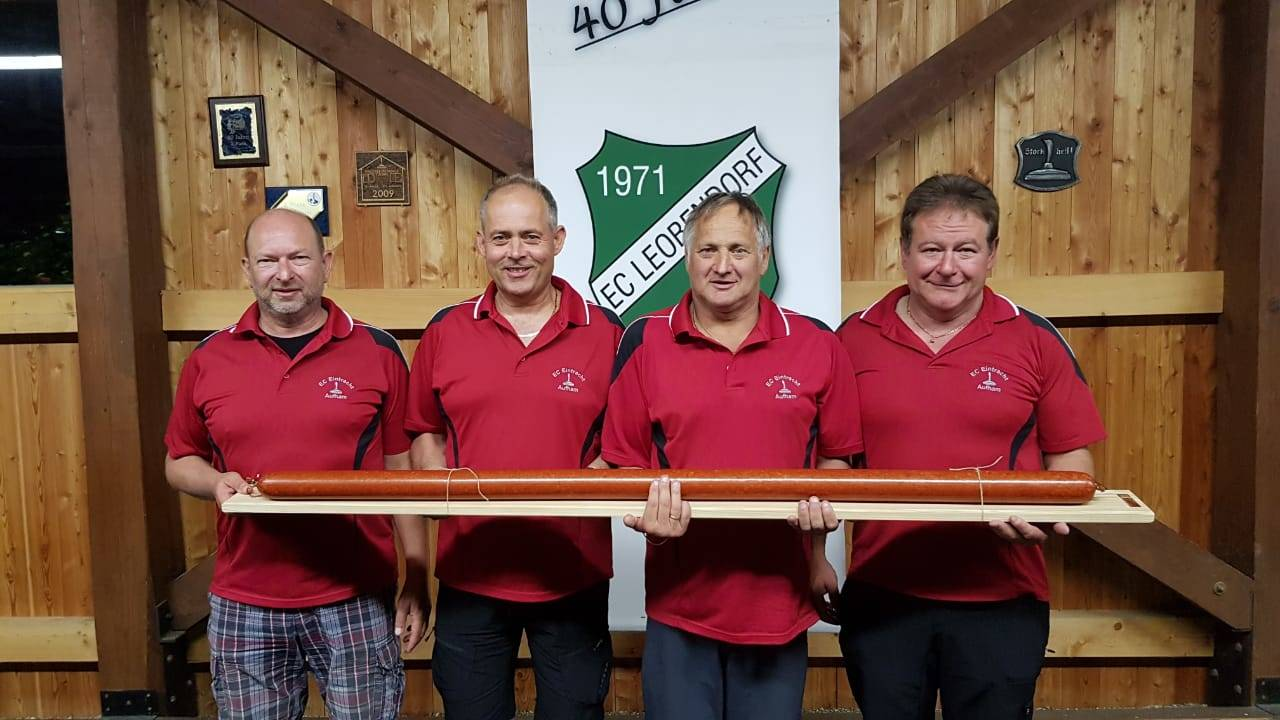 v.l. Dieter Gerbeth, Stefan Heigenhauser, Harry Pirker und Ludwig Hogger