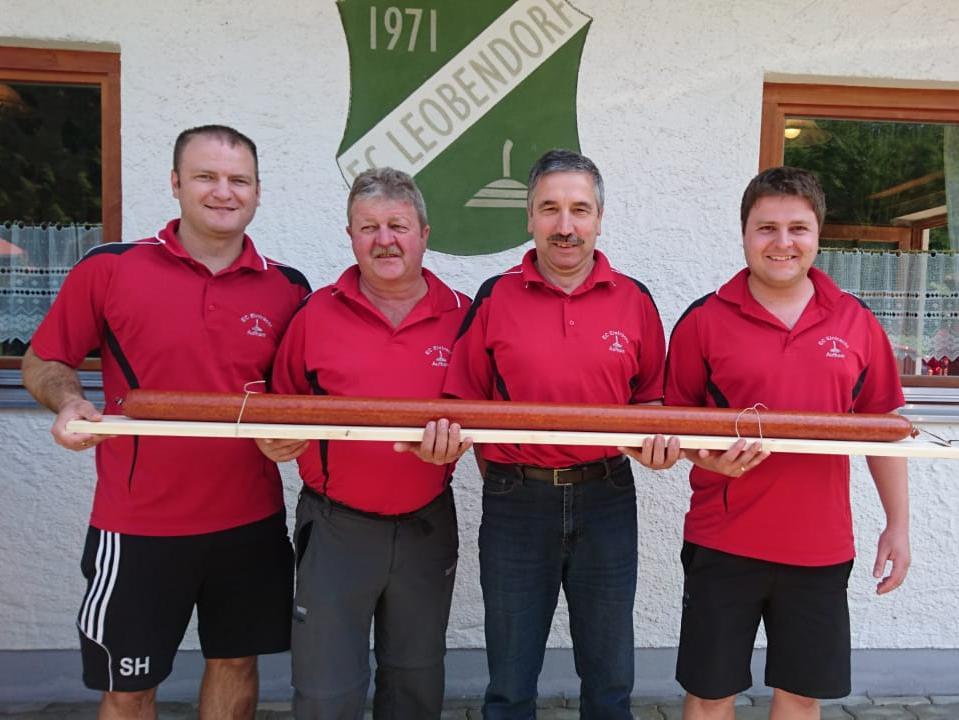 v.l. Stefan Hogger, Stefan Stumpfegger sen., Roland Moosleitner und Stefan Stumpfegger jun.