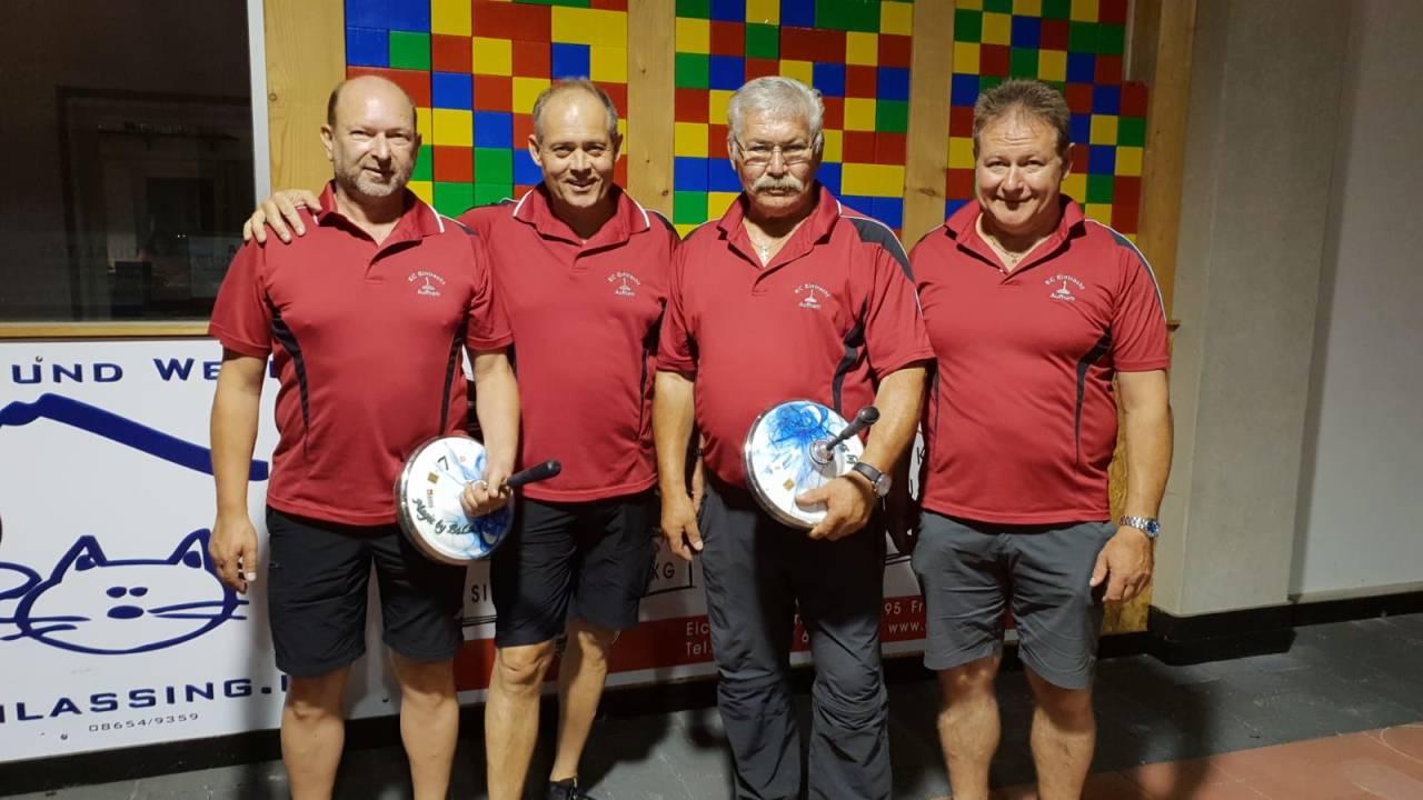 v.l. Dieter Gerbeth, Stefan Heigenhauser, Karl Schmid und Ludwig Hogger