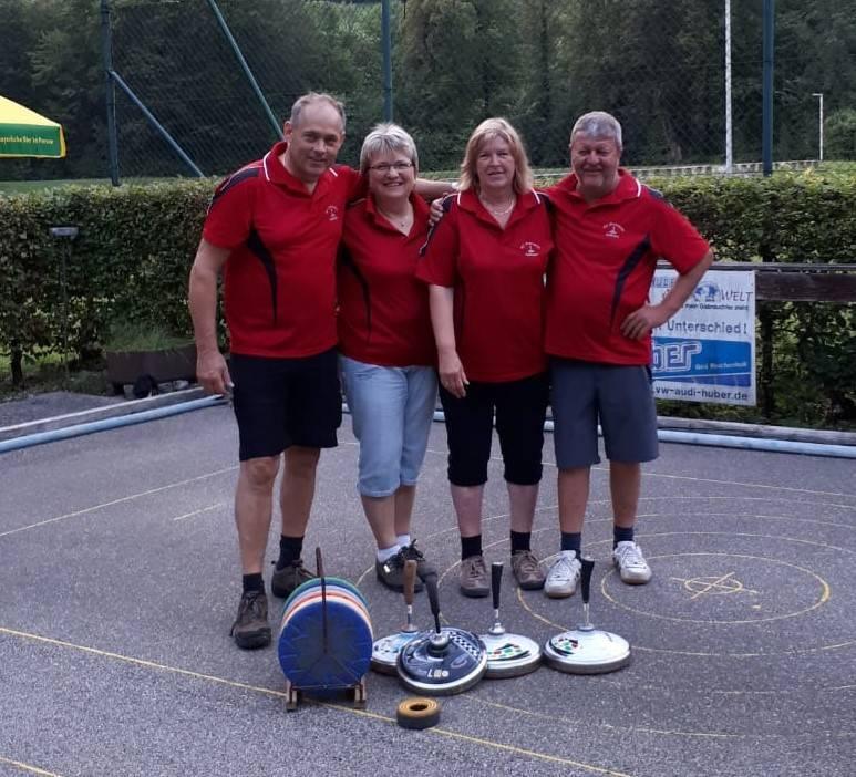 v.l. Stefan Heigenhauser, Gerti Hogger, Maria Sappel und Stefan Stumpfegger sen.