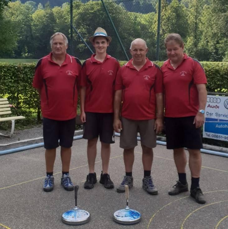v.l. Harry Pirker, Martin Hinterstoißer, Klaus Fegg und Ludwig Hogger