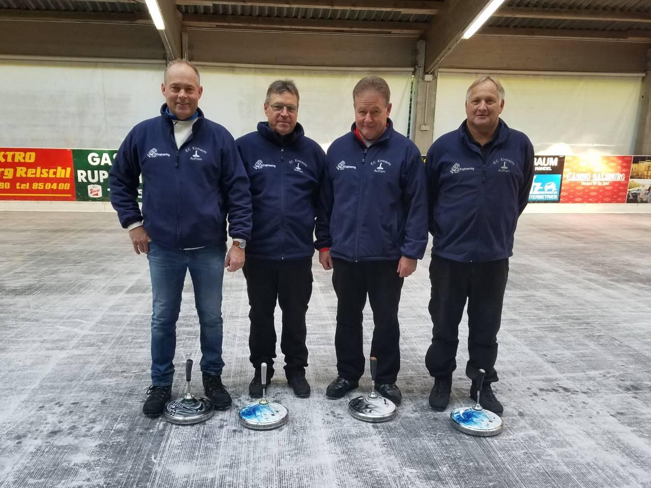 v.l. Stefan Heigenhauser, Heinz Lexhaller, Ludwig Hogger und Harry Pirker