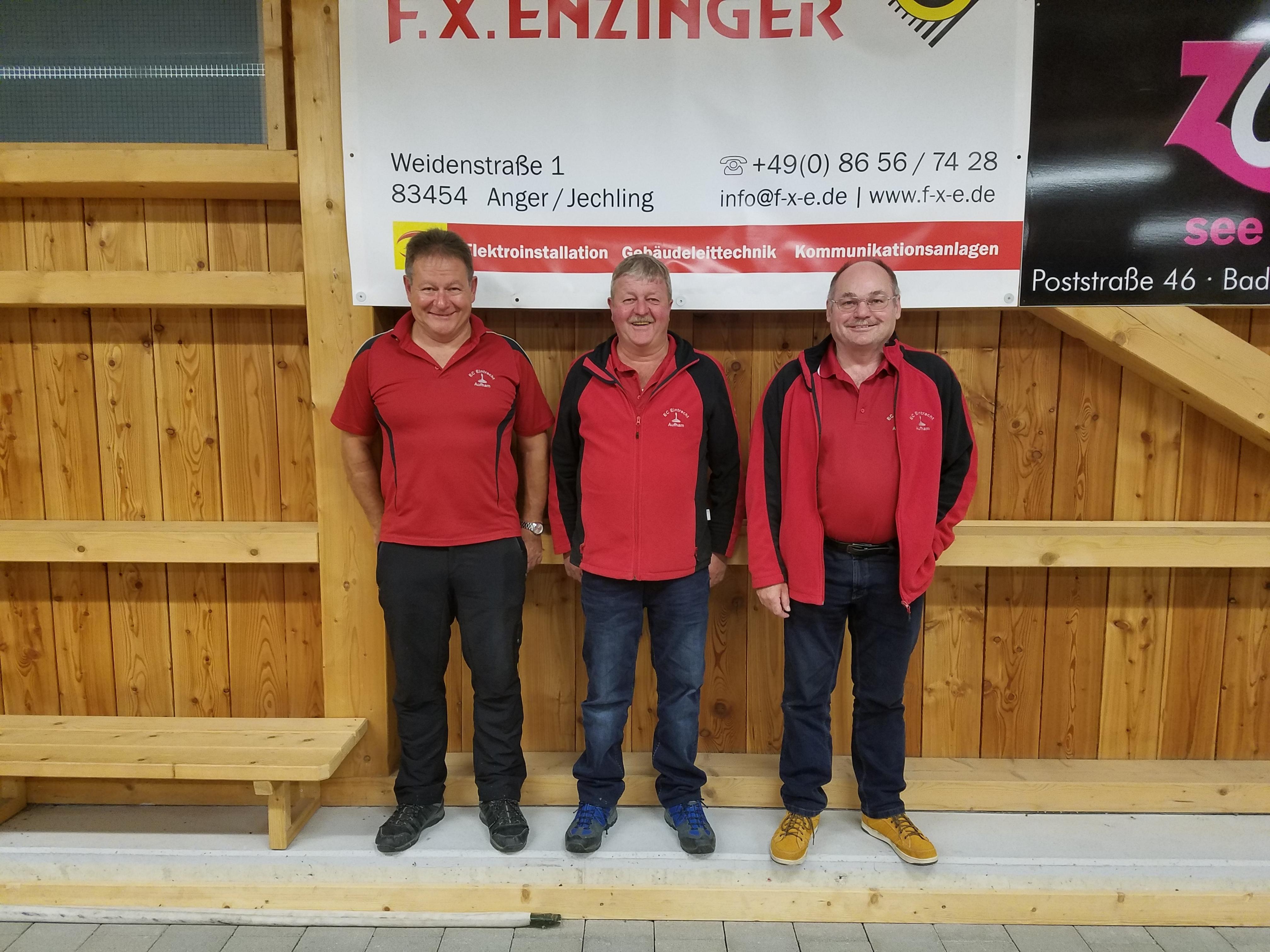 2. Ludwig Hogger (269 Punkte) - 1. Stefan Stumpfegger sen. (277 Punkte) - 3. Rudi Leppertinger (262 Punkte)