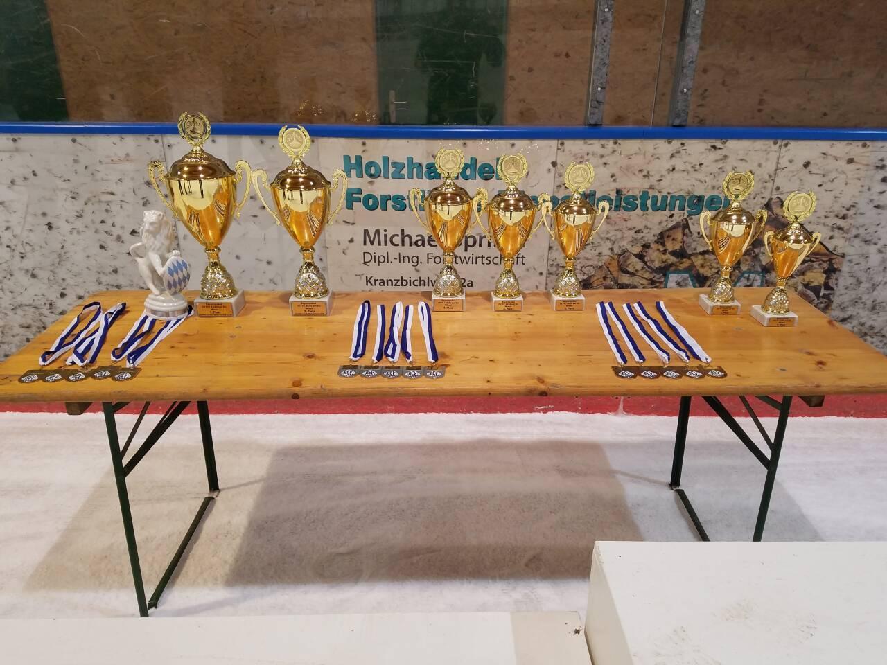 Siegpreise beim Bayernpokal Mixed 2019/2020 in Berchtesgaden