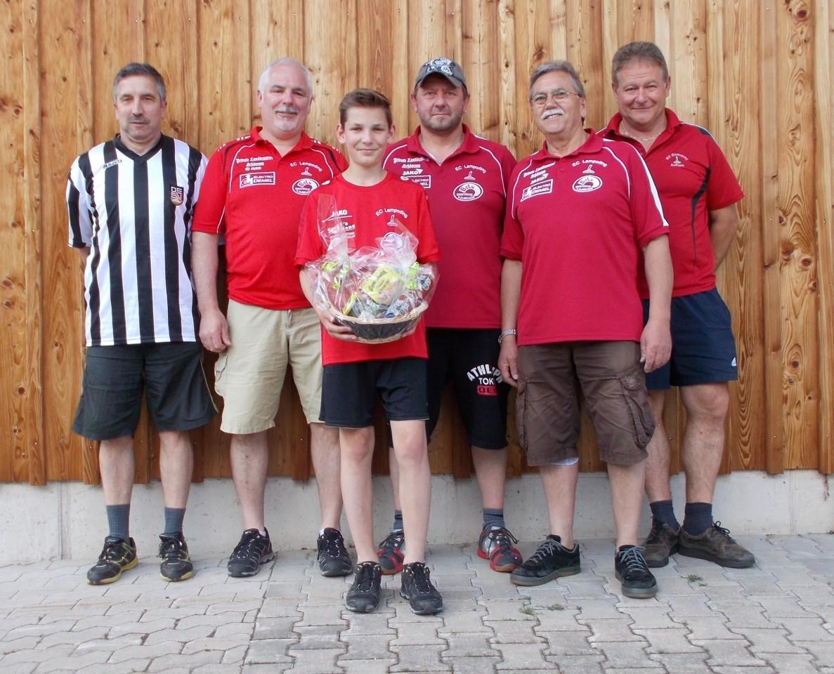 Herrenturnier Gruppe 2 EC Eintracht Aufham - Sieger EC Lampoding