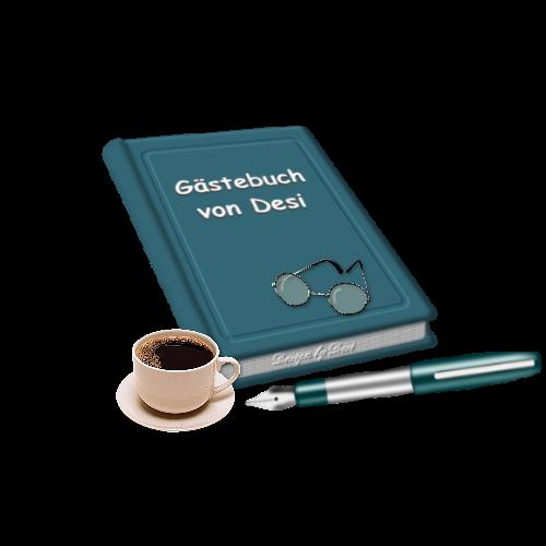 Gästebuch Banner - verlinkt mit https://www.kunterbuntesvondesi.de/