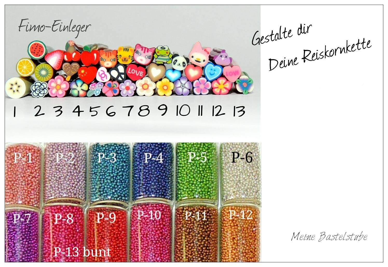 Mini Perlen Auswahl